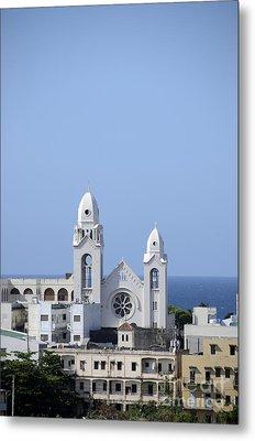 Cathedral De San Juan Metal Print by Birgit Tyrrell