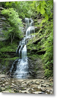 Metal Print featuring the photograph Cathedral Falls by Robert Camp