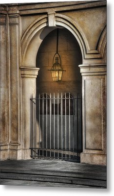 Cathedral Gate Metal Print