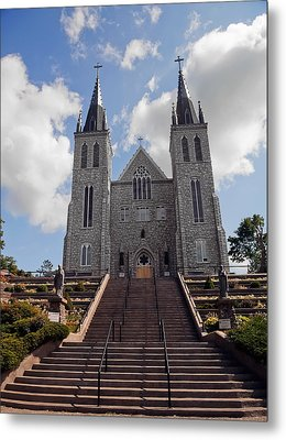 Cathedral In Midland Ontario Metal Print by Marek Poplawski
