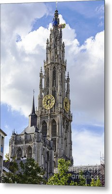 Cathedral In The Sky Metal Print by Pravine Chester