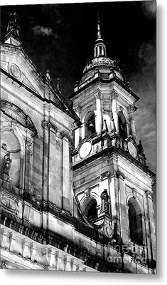 Cathedral Of Bogota Metal Print by John Rizzuto