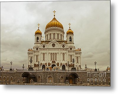Cathedral Of Christ The Saviour Metal Print by Lars Ruecker