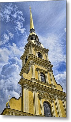 Cathedral Of Saints Peter And Paul - St. Persburg Russia Metal Print by Jon Berghoff