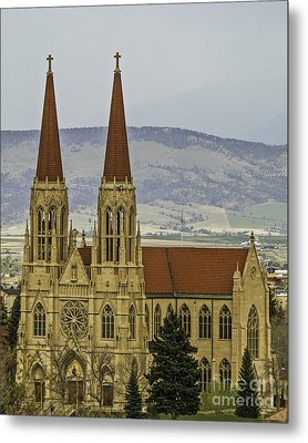 Cathedral Of St Helena Metal Print by Sue Smith