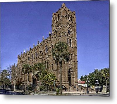 Cathedral Of St. John The Baptist Charleston Metal Print by Lynn Palmer