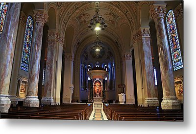 Cathedral Of St. Joseph Metal Print by Stephen Stookey