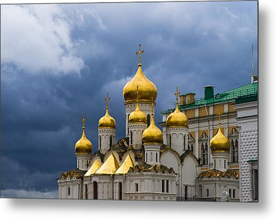 Cathedral Of The Annunciation Of Moscow Kremlin Metal Print by Alexander Senin
