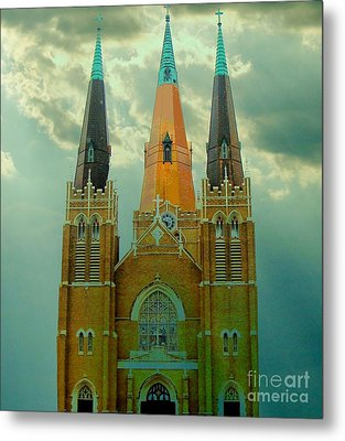 Cathedral Of The Holy Family  Metal Print