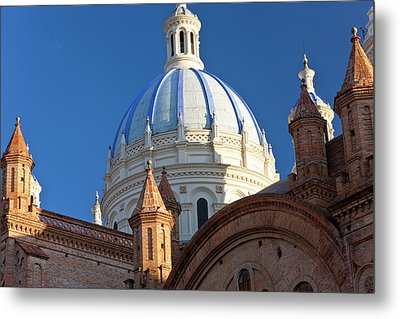 Cathedral Of The Immaculate Conception Metal Print by Peter Adams