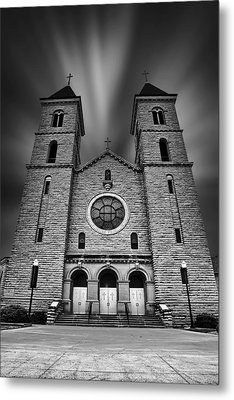 Cathedral On The Plains Metal Print
