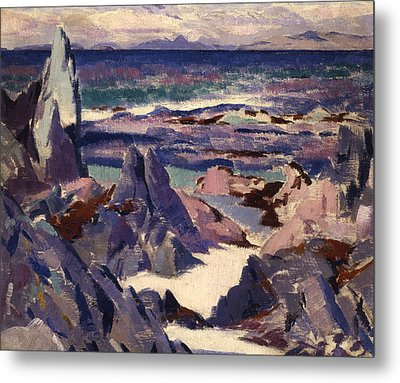 Cathedral Rock Metal Print by Francis Campbell Boileau Cadell