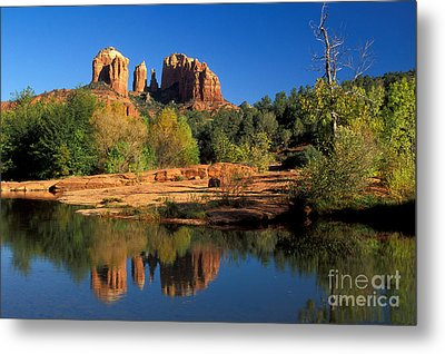 Cathedral Rock Metal Print by Mark Newman