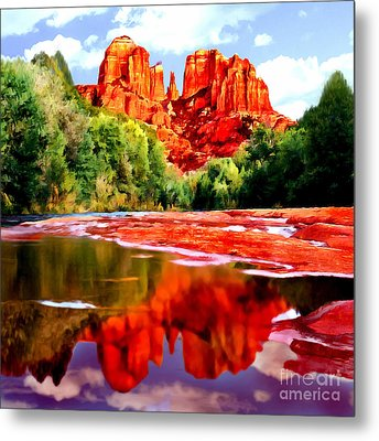 Cathedral Rock Sedona Arizona Metal Print