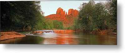 Cathedral Rocks In Coconino National Metal Print by Panoramic Images