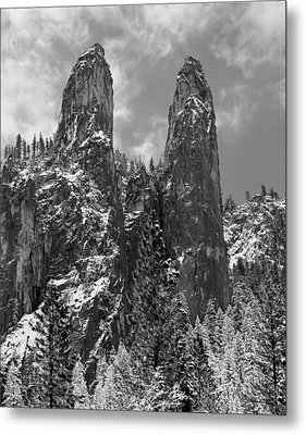 Cathedral Spires Metal Print