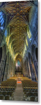 Cathedral Vertorama Metal Print by Ian Mitchell