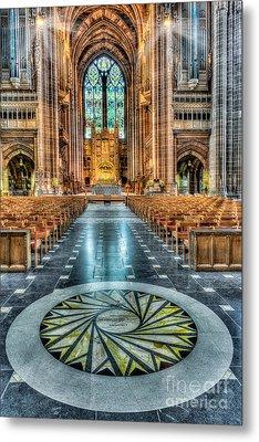 Cathedral Way Metal Print by Adrian Evans