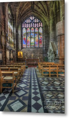 Cathedral Window Metal Print by Ian Mitchell