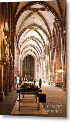 Cathedrale Notre Dame De Strasbourg France Metal Print