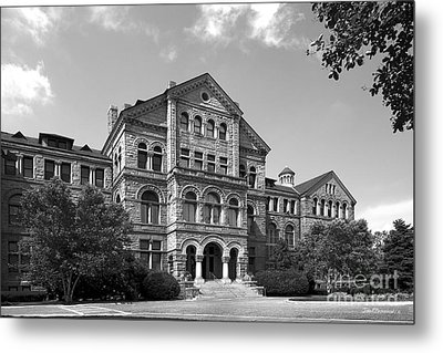Catholic University Mc Mahon Hall Metal Print by University Icons