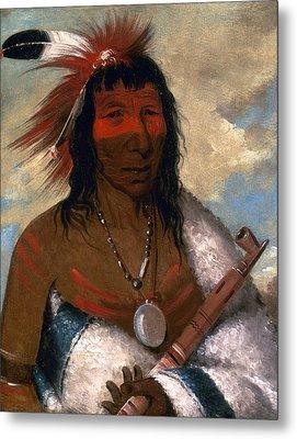 Catlin Sioux Chief, 1835 Metal Print