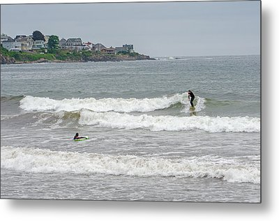 Caught A Wave Metal Print by Susan  McMenamin