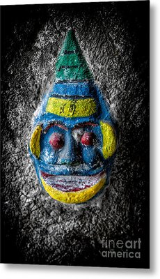 Cave Face 3 Metal Print by Adrian Evans