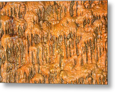 Cave Formation 5 Metal Print by T C Brown