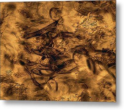 Cave Painting Metal Print by RC deWinter