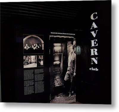 Cavern Club Original Doorway Liverpool Uk Metal Print