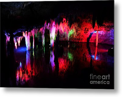 Metal Print featuring the photograph Caverns by Utopia Concepts