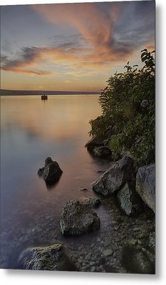 Cayuga Sunset I Metal Print