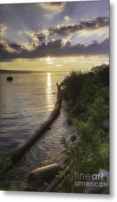 Cayuga Sunset II Metal Print