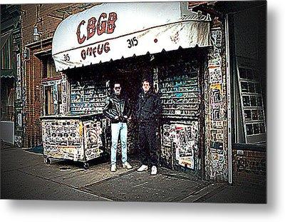 Cbgb New York 1992 Metal Print