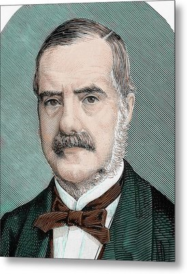 Cecil John Rhodes (1853-1902 Metal Print by Prisma Archivo