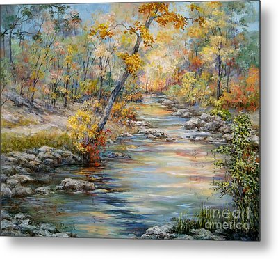 Cedar Creek Trail Metal Print