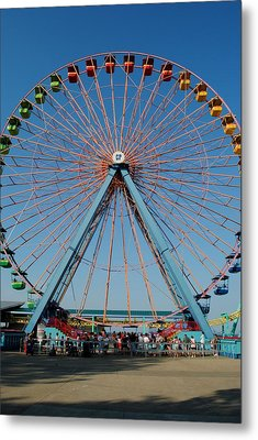 Cedar Point Sunday Metal Print by Frozen in Time Fine Art Photography