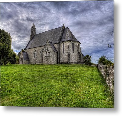 Cefn Meiriadog Parish Church Metal Print by Ian Mitchell