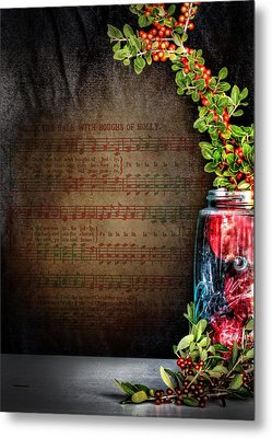 Celebrate Christmas Metal Print by David and Carol Kelly