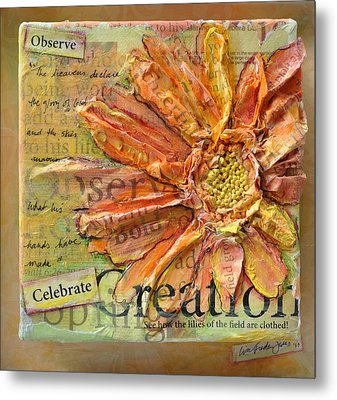 Celebrate Creation Metal Print