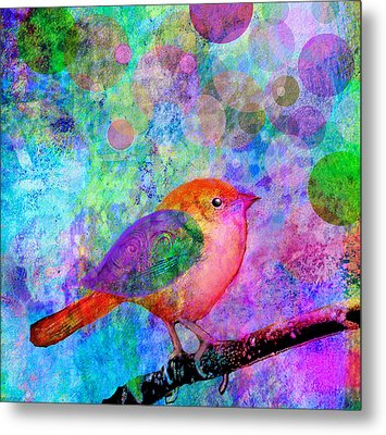 Celebrate Metal Print by Robin Mead