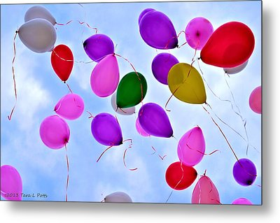 Celebrate Metal Print by Tara Potts