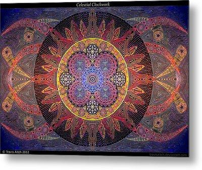 Celestial Clockwork Metal Print by Travis Hunt