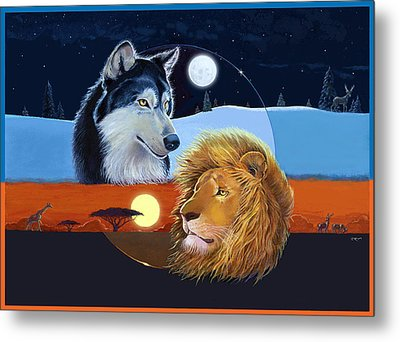 Celestial Kings Metal Print by J L Meadows