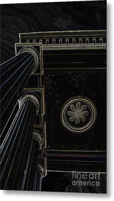 Celestial Pillars Metal Print by Inspired Nature Photography Fine Art Photography