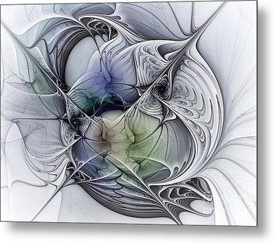 Celestial Sphere Abstract Art Metal Print