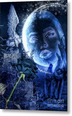 Celestine Metal Print by Mo T