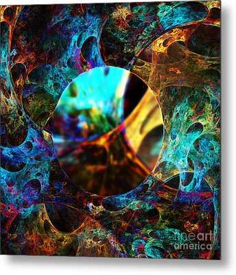 Cell Research Metal Print by Klara Acel