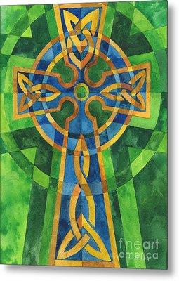 Celtic Cross Metal Print by Mark Jennings